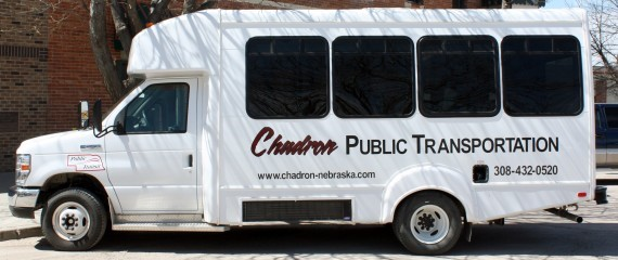 Chadron Public Transportation bus