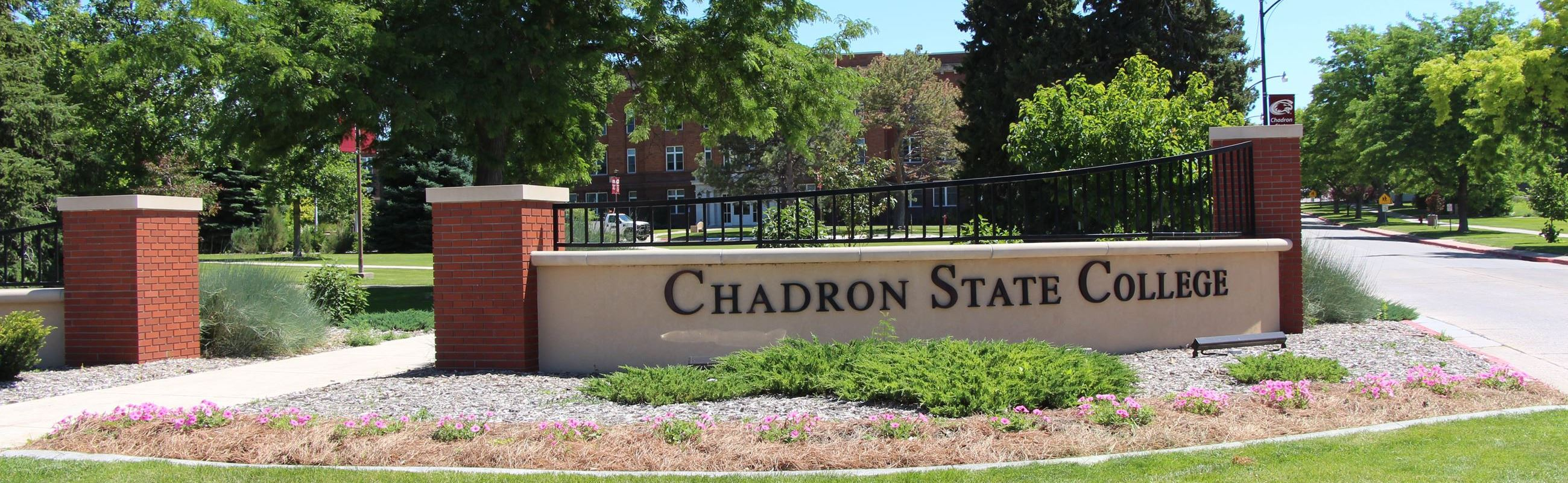 Chadron State College Welcome Sign
