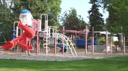 Finnegan Park playground equipment